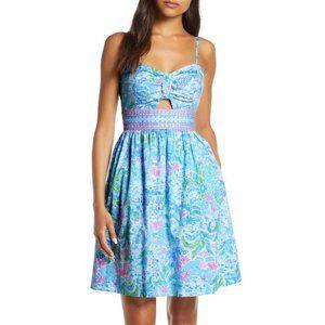 NWT Lilly Pulitzer Katlynn Dress Blue Size 6